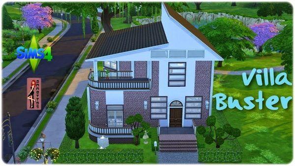 Annett`s Sims 4 Welt: Villa Buster • Sims 4 Downloads