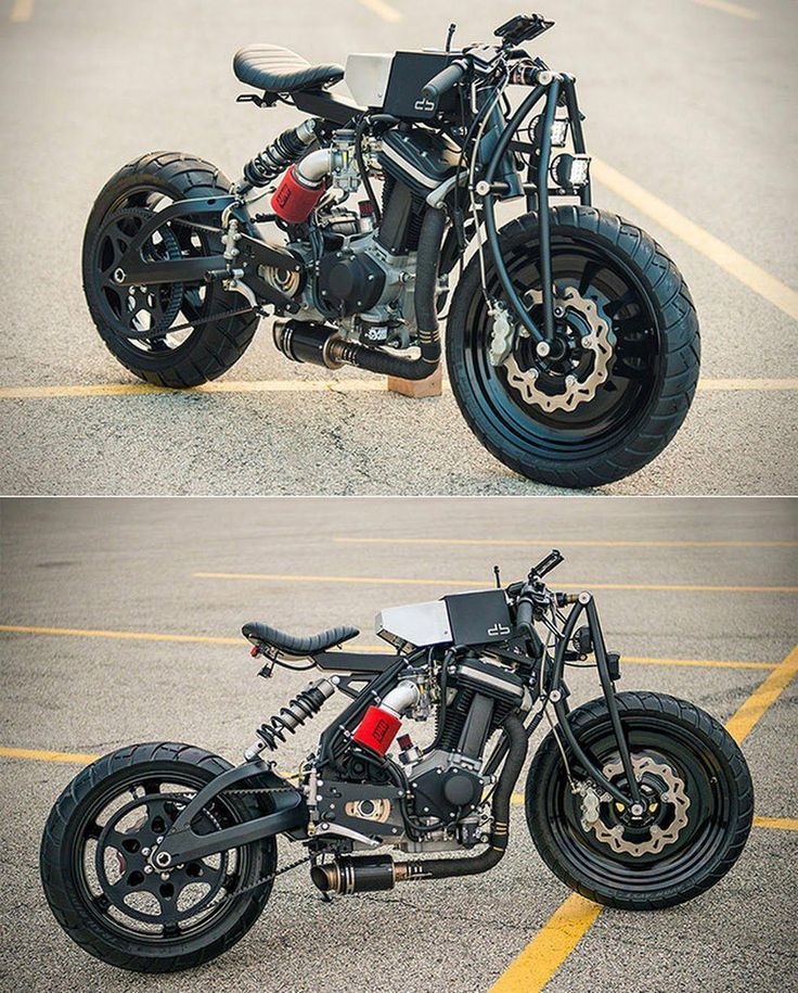 This custom Buell Blast was built in a tiny apartment