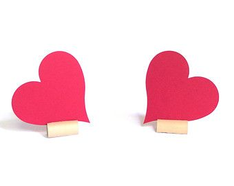 Heart Placecard
