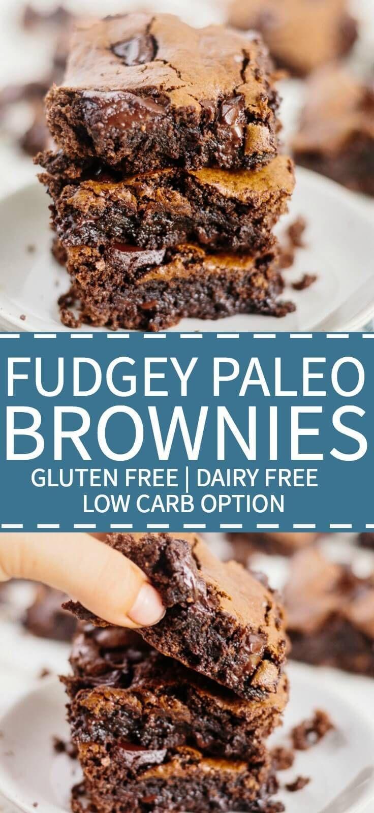 Ultimate Fudgy Paleo Brownies images