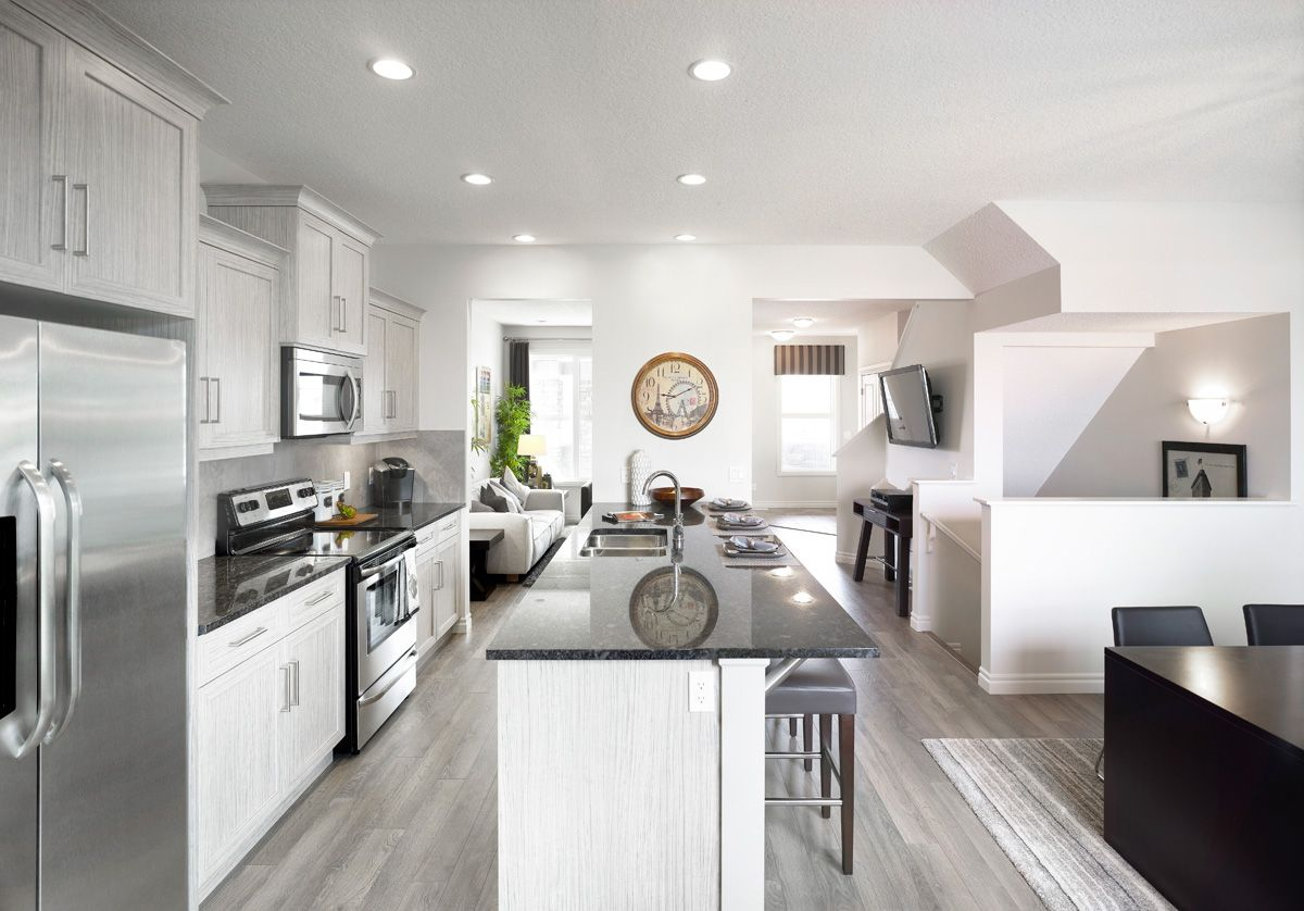 The Livingston Kitchen in Legacy – Trico Homes – Check out the new ...