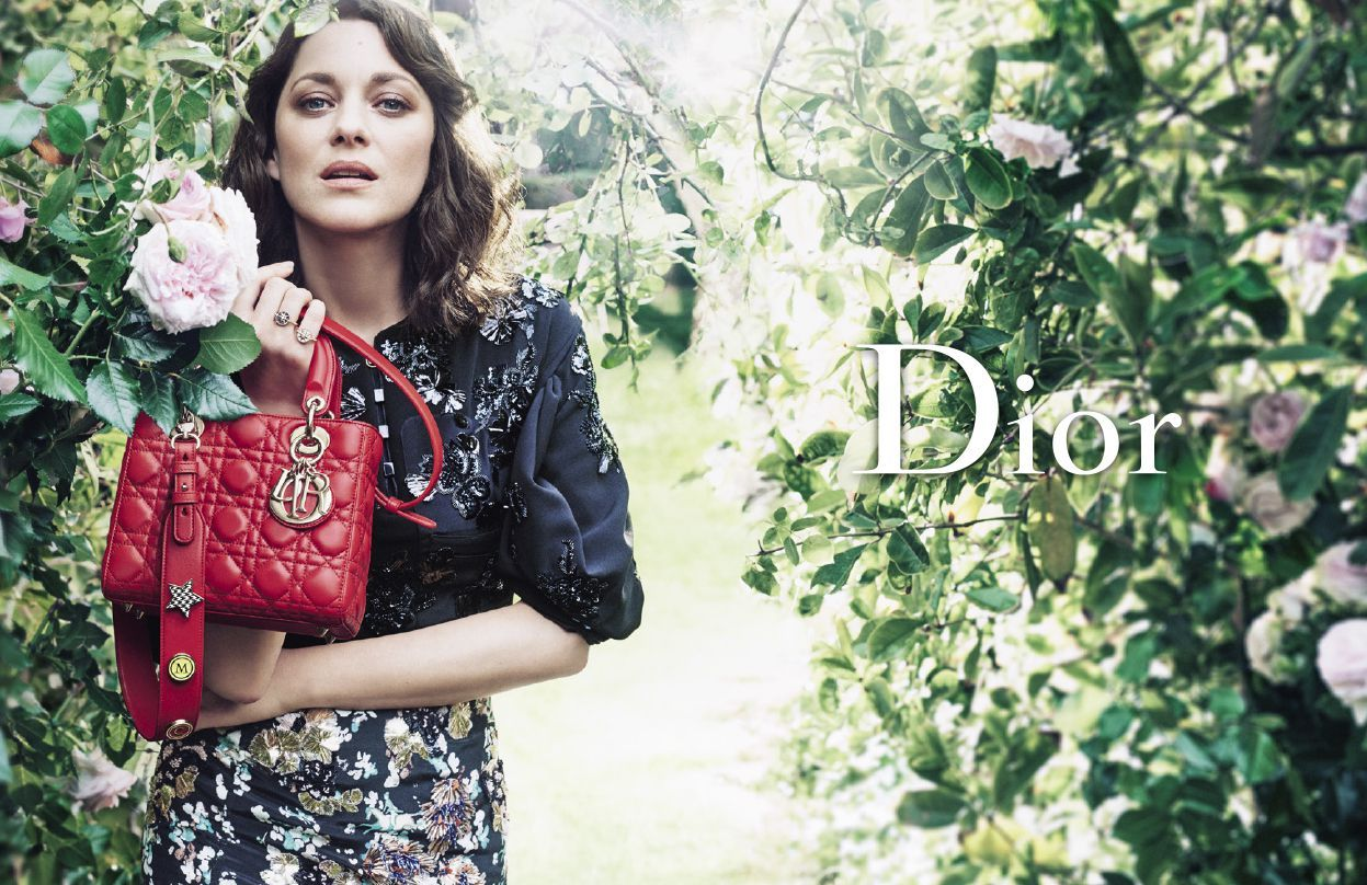 2019 year looks- Cotillard marion lady dior campaign spring