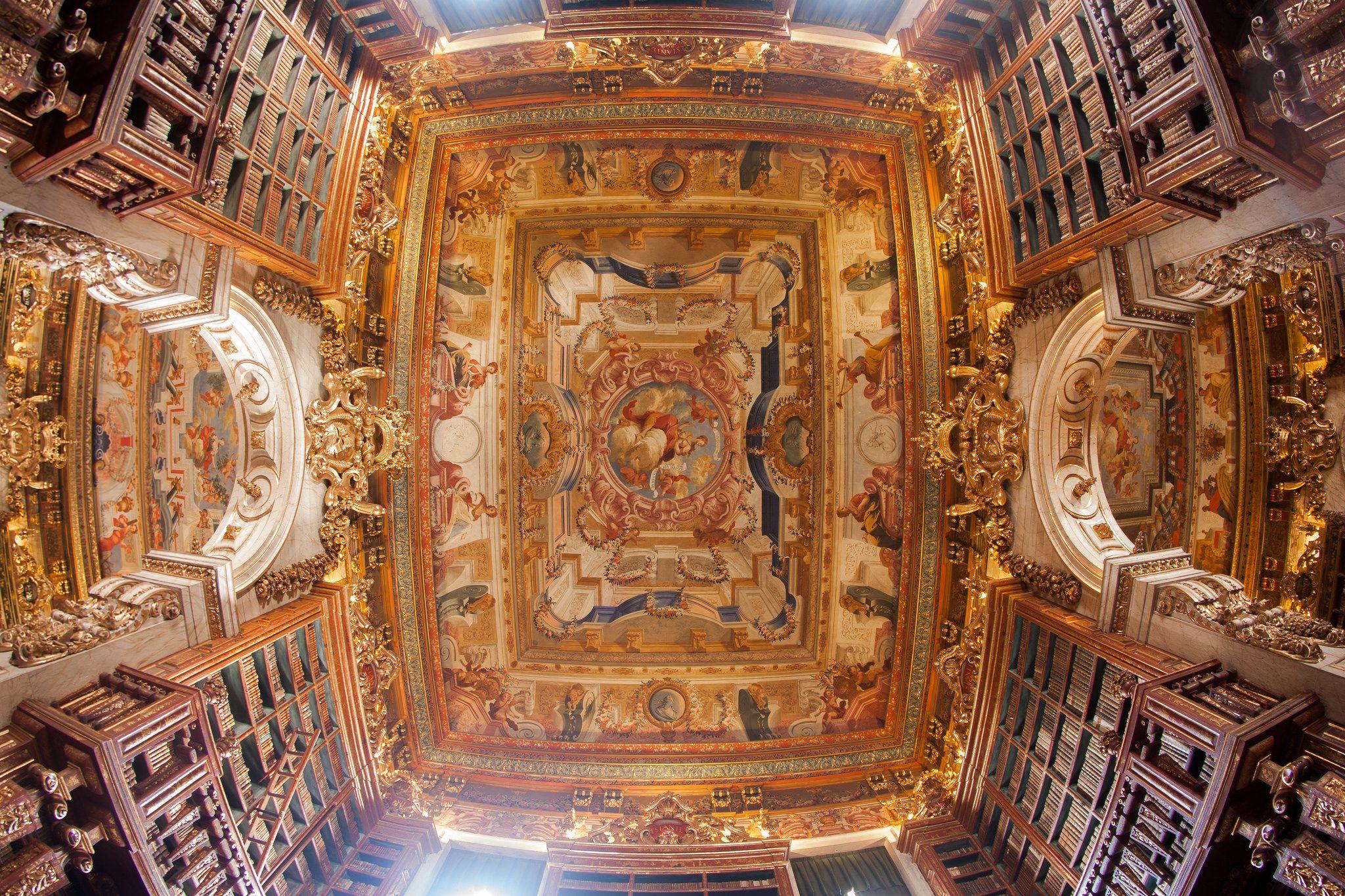 Biblioteca Joanina Foto De Gilberto Gil Turismouc Unesco
