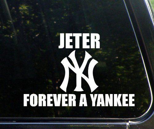 Respect Derek Jeter Home Decor Car Truck Window Decal Sticker
