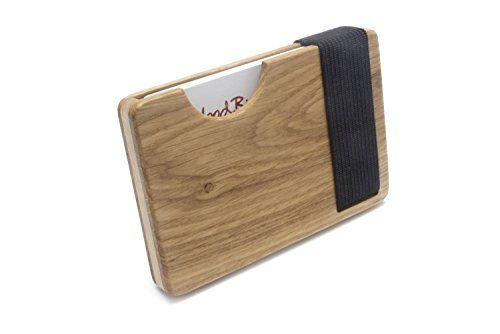 Hochwertiges Kreditkartenetui Und Visitenkartenetui Aus Holz