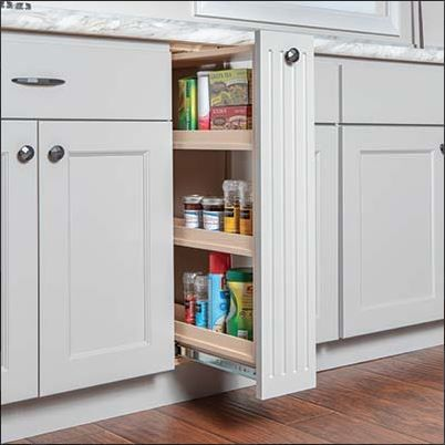 Base Pull-out | Tall cabinet storage, Home decor, Storage