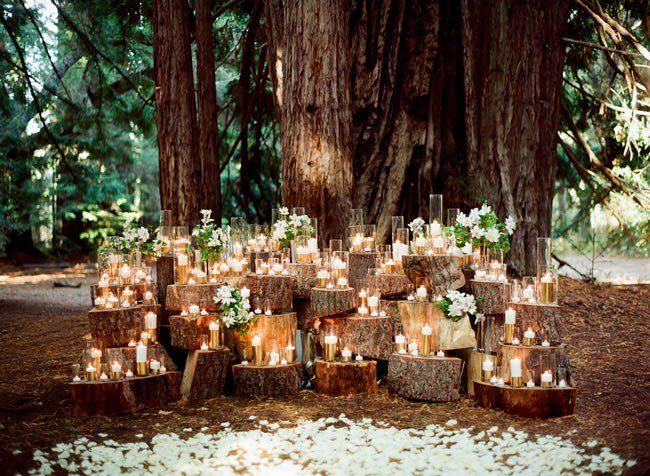 Photo of Whimsical + Woodsy: Stellungnahme for your Forest Wedding
