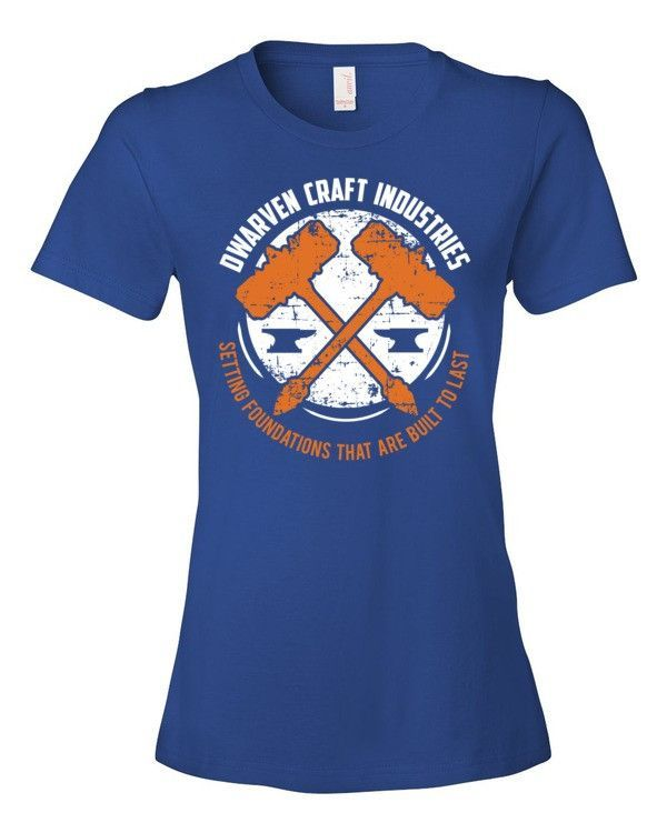 Dwarven Craft Industries Jersey Knit Women's T-Shirt