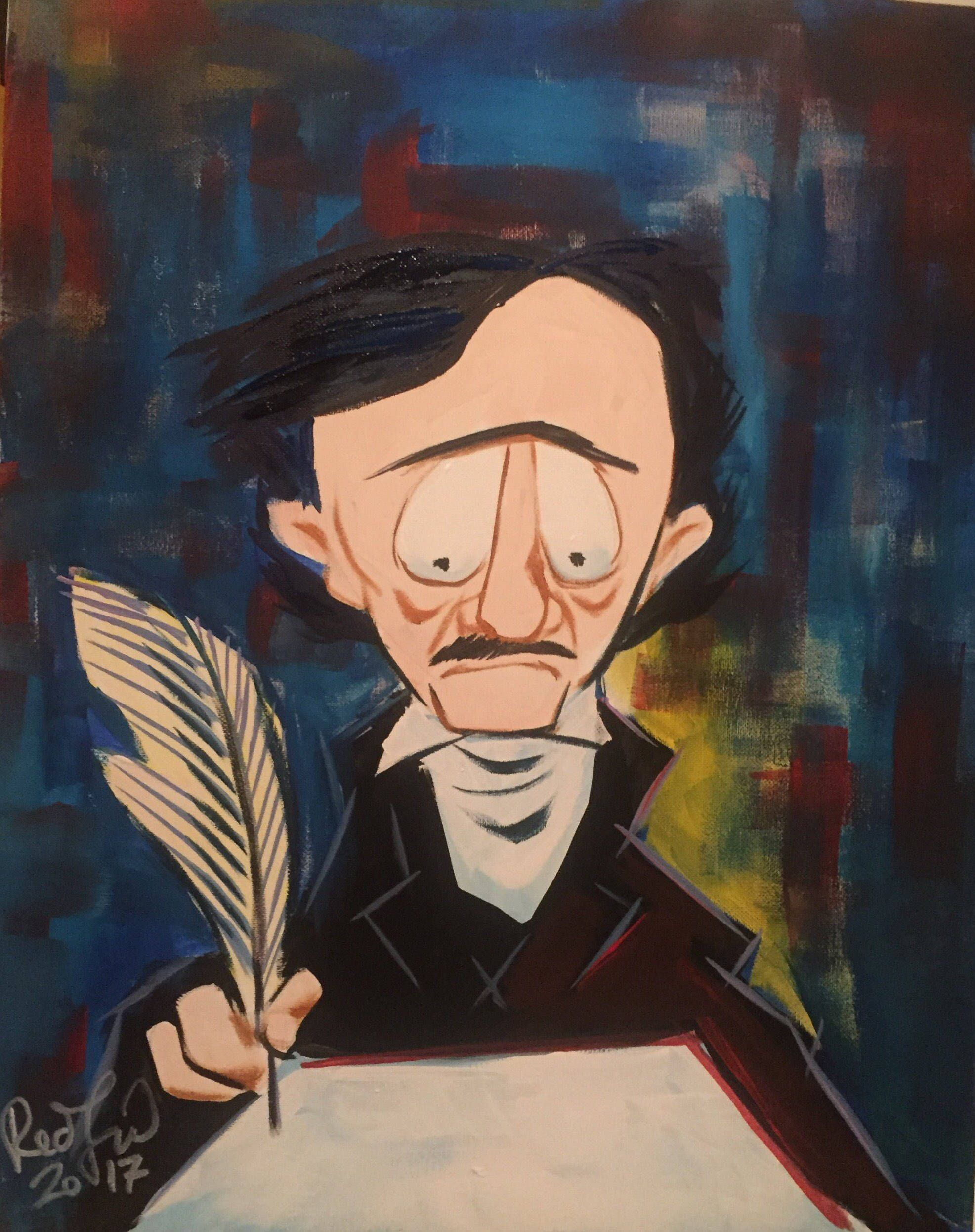 POE AND THE HORROR OF THE BLANK PAGE (2017) BY MARK REDFIELD ...