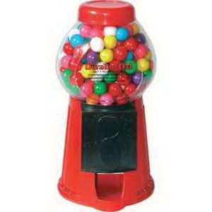 8 1 2 Quot H Plastic Gumball Machine 8 1 2 Quot Red Plastic