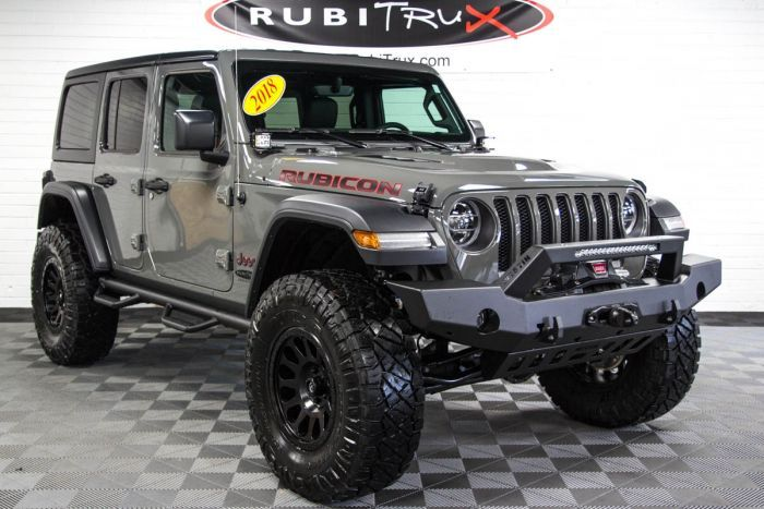 2018 Jeep Wrangler Rubicon Unlimited Jl Sting Gray Jeep Rubicon