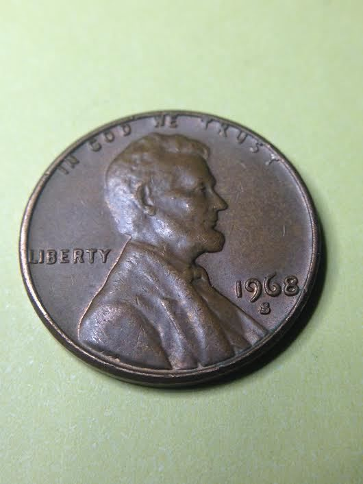 1968 S Lincoln Memorial Penny Us Coin Old Coins Value