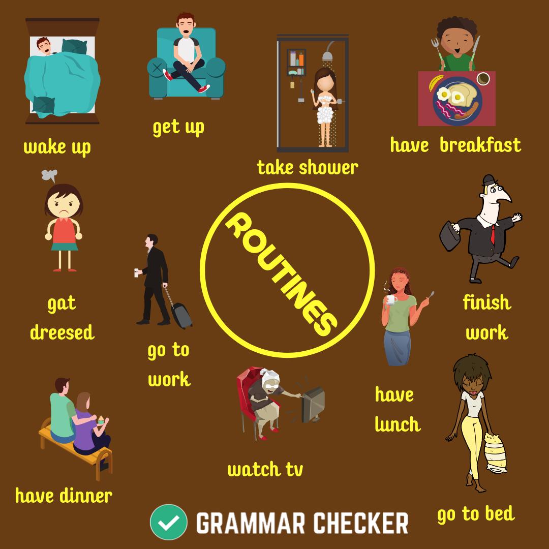 ROUTINES in 2020 Grammar check, Grammar corrector