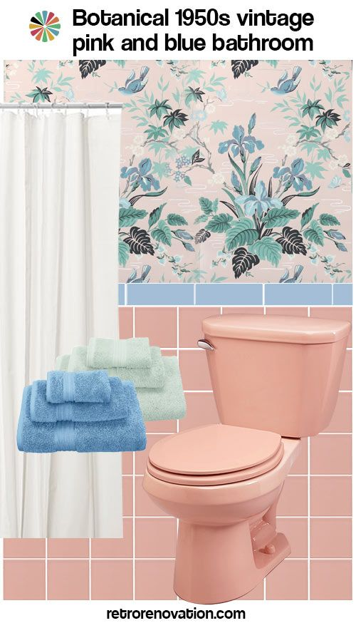 13 Ideas To Decorate A Pink And Blue Tile Bathroom Pink Bathroom Tiles Blue Bathroom Tile Pink Bathroom