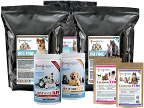 Young Again Pet Food NBNB they have very low carb foods