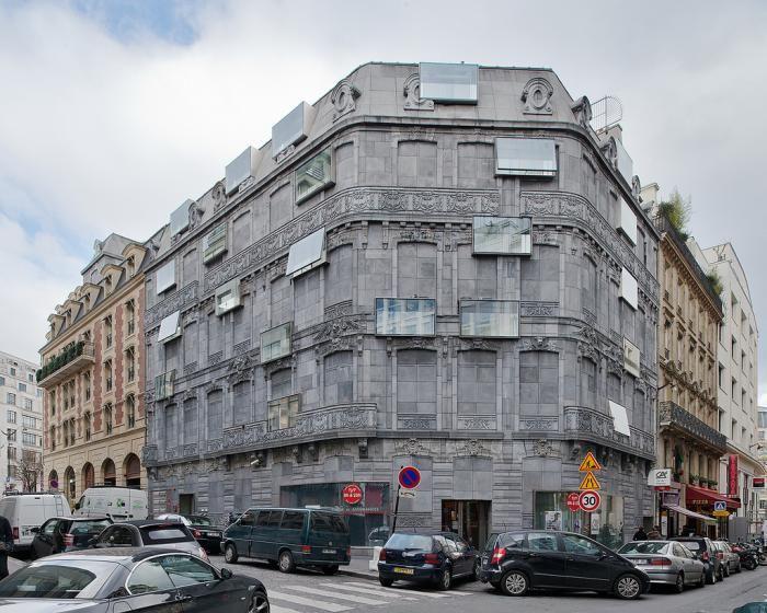 Hôtel Fouquet's Barrière, Paris, France. Edouard François Architecte.