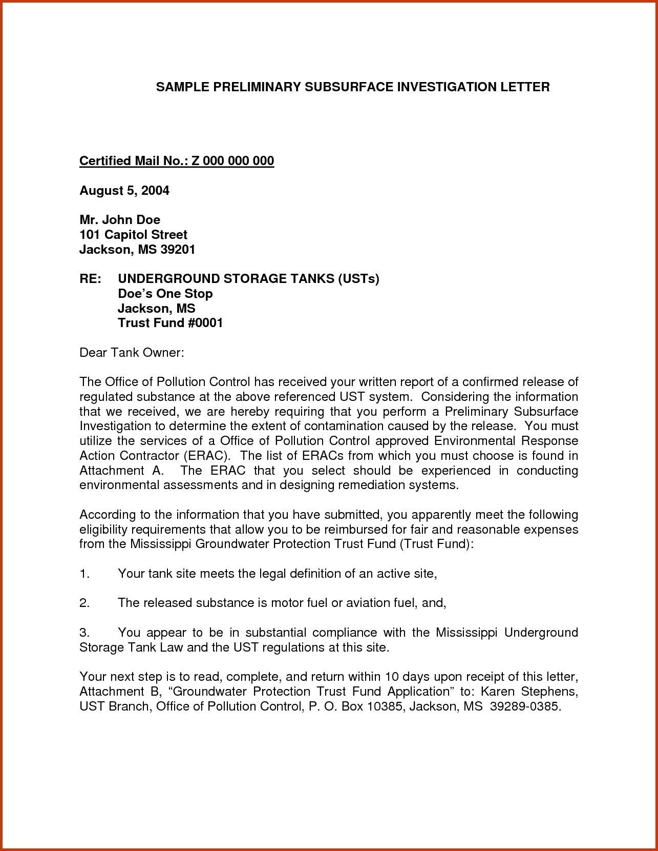 Valid Business Letter form Business letter template