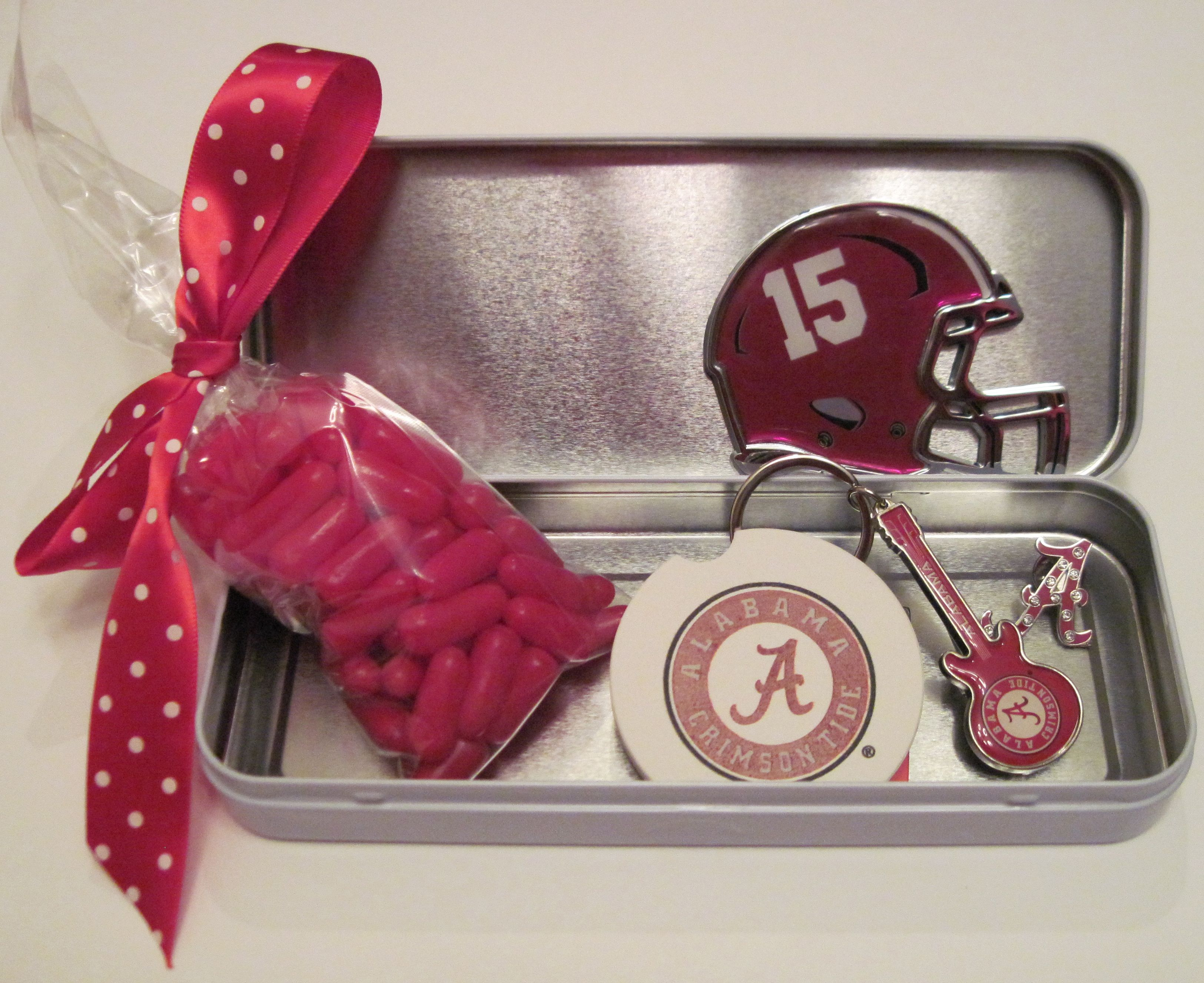Tail gate, game day theme decorated case. Decal were found on amazon, letters were found at Michaels. Alabama football. You can buy the case and decorate your own at https://www.etsy.com/shop/stuffinacase?ref=hdr_shop_menu