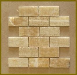 homey inspiration mosaic tile raleigh. Honey Onyx Mosaic 2 x4  Subway Polished Kitchen Backsplash CP