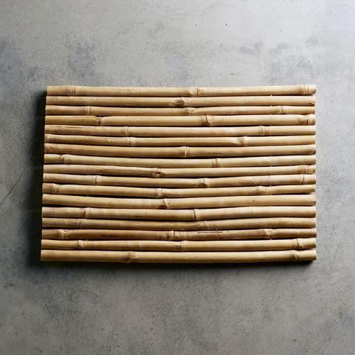 Tapis de salle de bain en bambou naturel Tine K Home | Bathroom ...