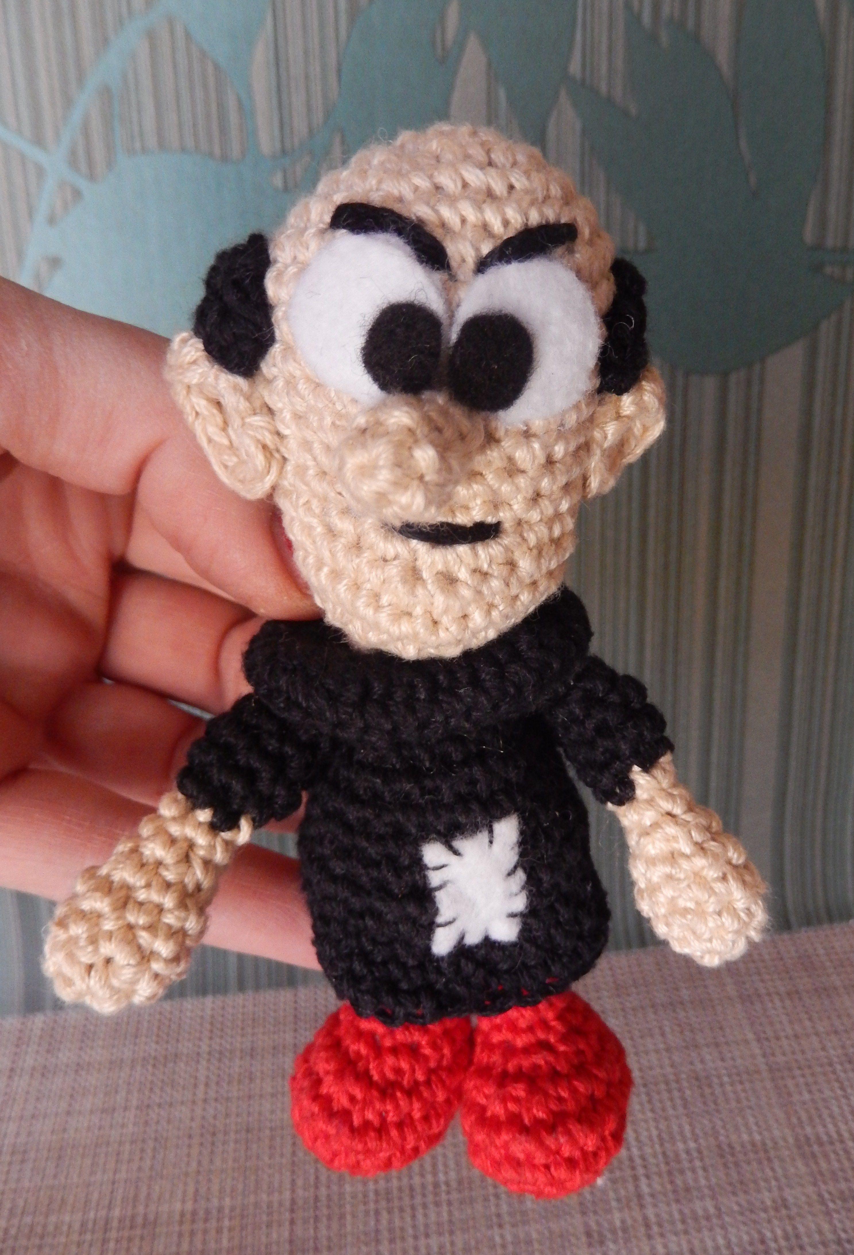 Gargamel   Ami loves Gurumi   crochet   Pinterest   Herzlich ...