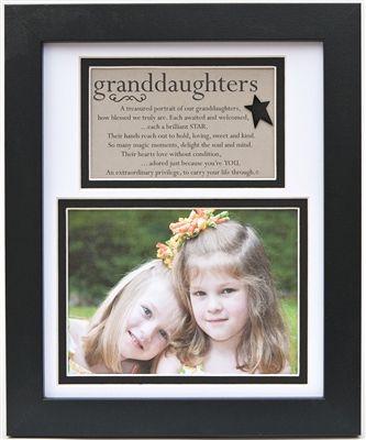 Grandparents Joy Sentimental Poetry Gift Frame or Brag Book Brag Book
