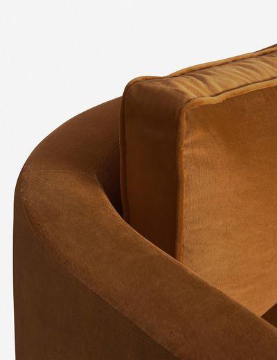Belmont Sofa, Cognac By Ginny Macdonald