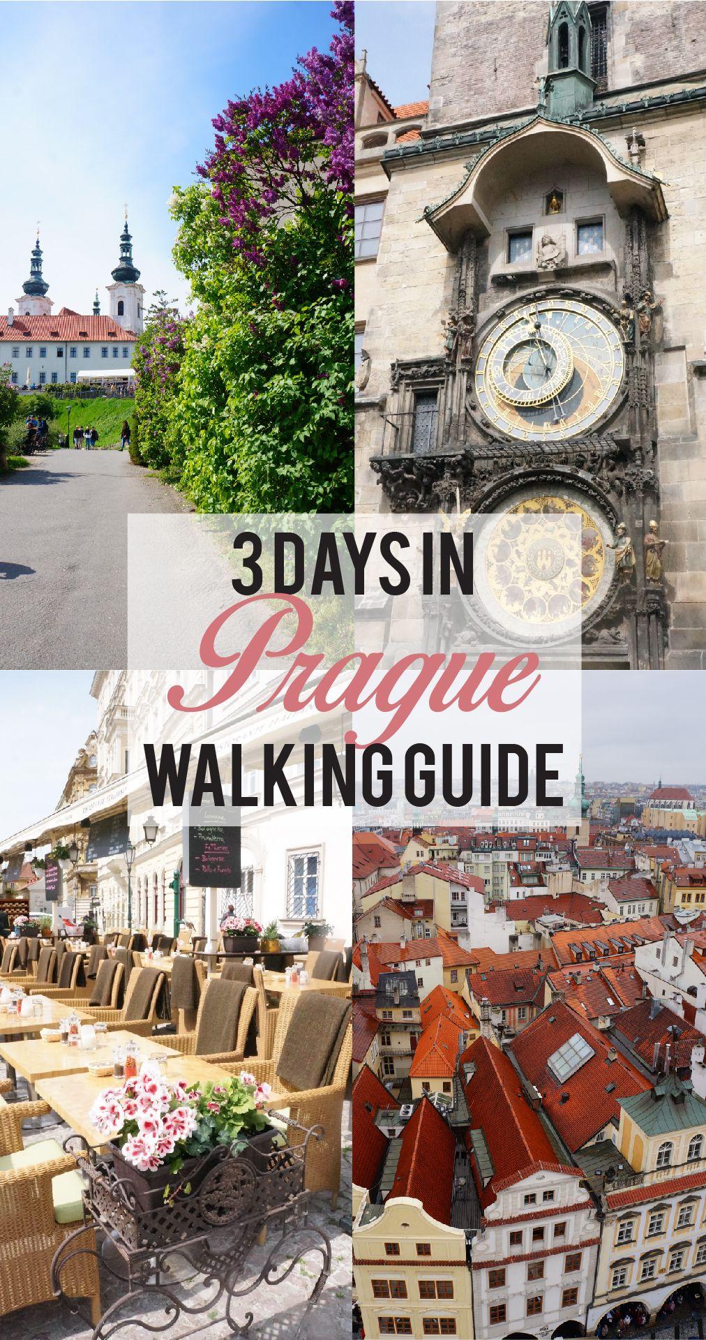 3 Days in Prague: Walking Guide #holidaytrip