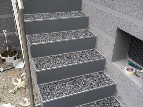 Außentreppe Mit Steinteppich Sanieren Bauanleitung Zum Selberbauen
