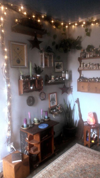 Image Result For Ideas For A Witchy Room With Images Aesthetic Bedroom Decor