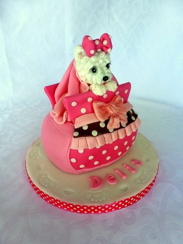 Dog In The Bag Cake Cakes And Cupcakes For Kids Birthday Party