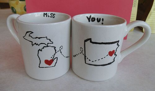 Best Friends Made These Mugs At Color Me Mine Saucon Valley Pa