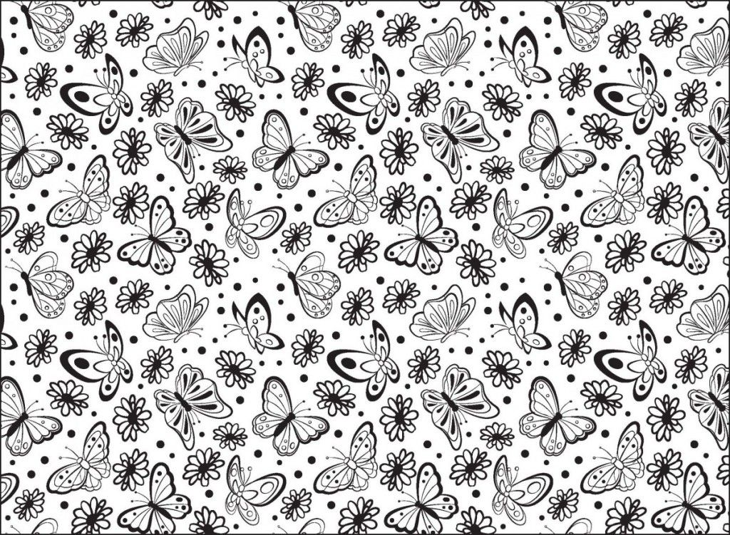 Free Botanical Colouring Pages