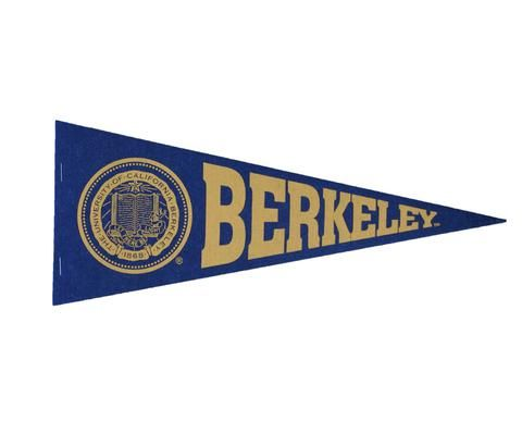 Berkeley Seal Pennant California Golden Bears Pennant Seal