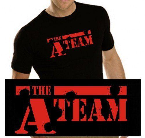 Equipo A - Camiseta de manga corta para hombre #regalo #arte #geek #camiseta