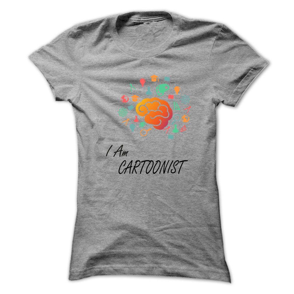 I am Cartoonist awesome shirt !!! T Shirt, Hoodie, Sweatshirt