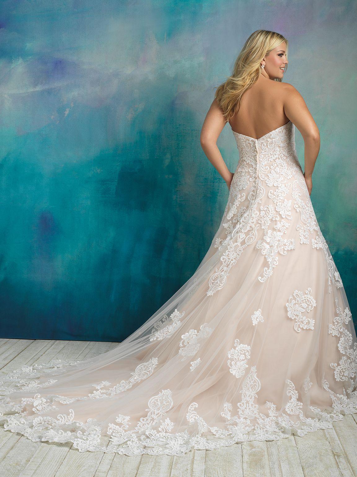 Allure bridal Style: W413   Taylor/Wedding Things   Pinterest