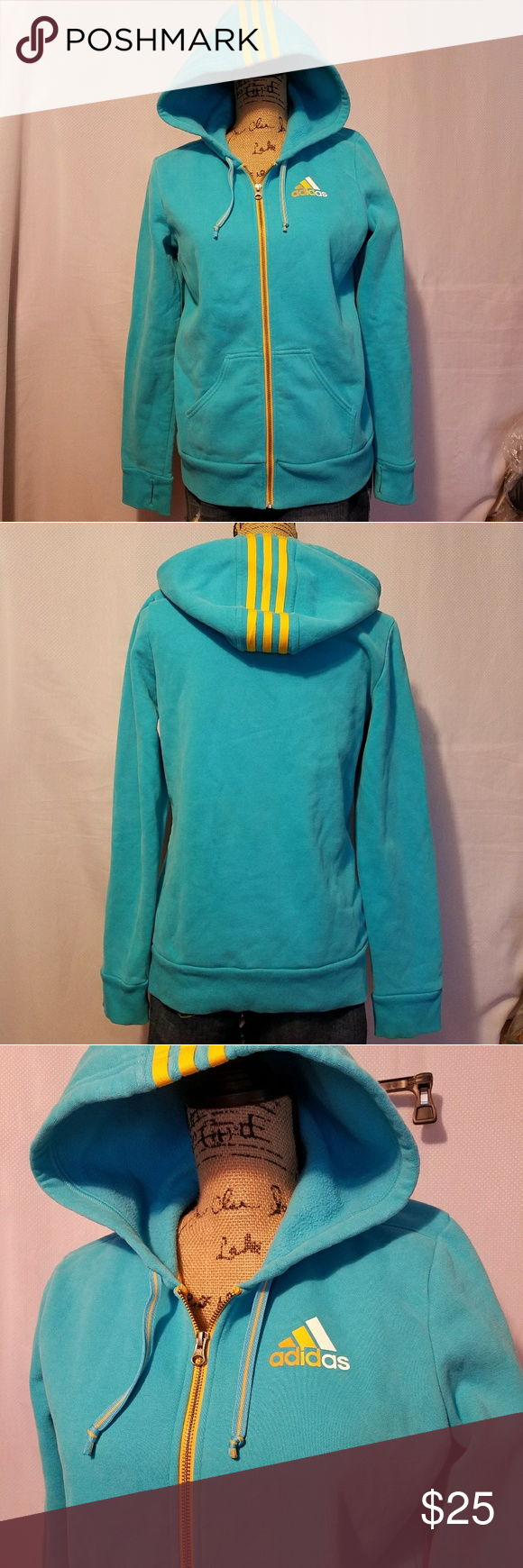 Adidas zip up fleece jacket my posh picks pinterest blue