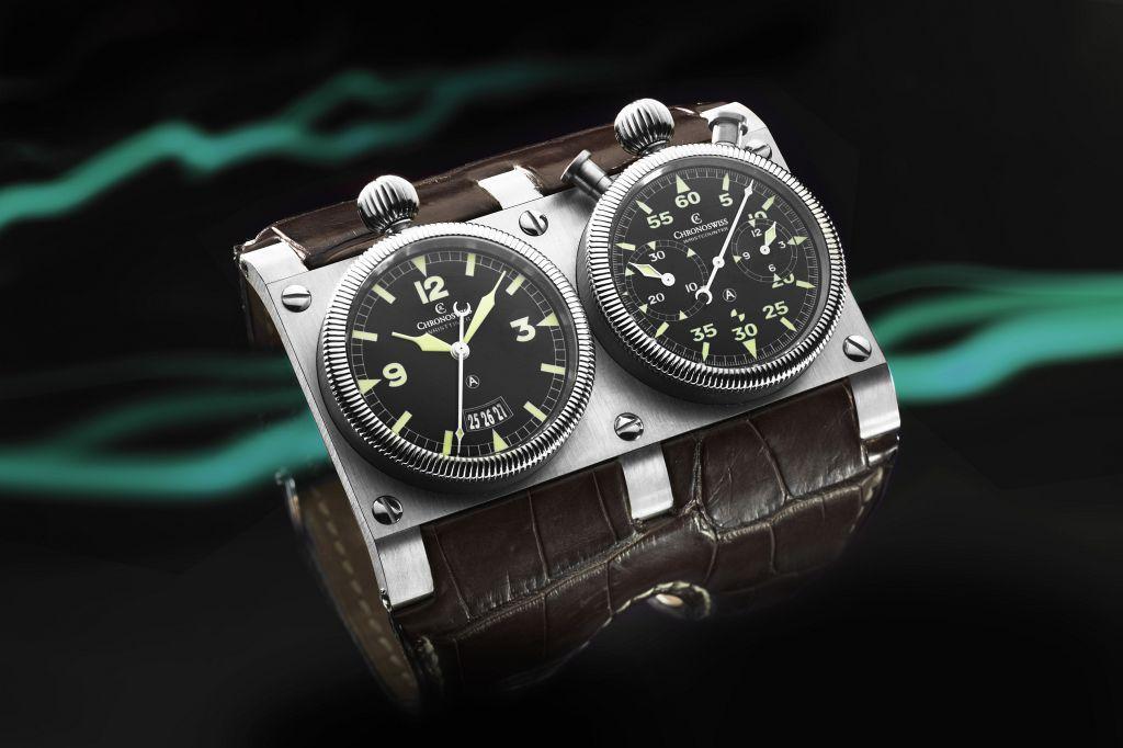 Chronoswiss Wristmaster #watch 84 mm wide at wrist...