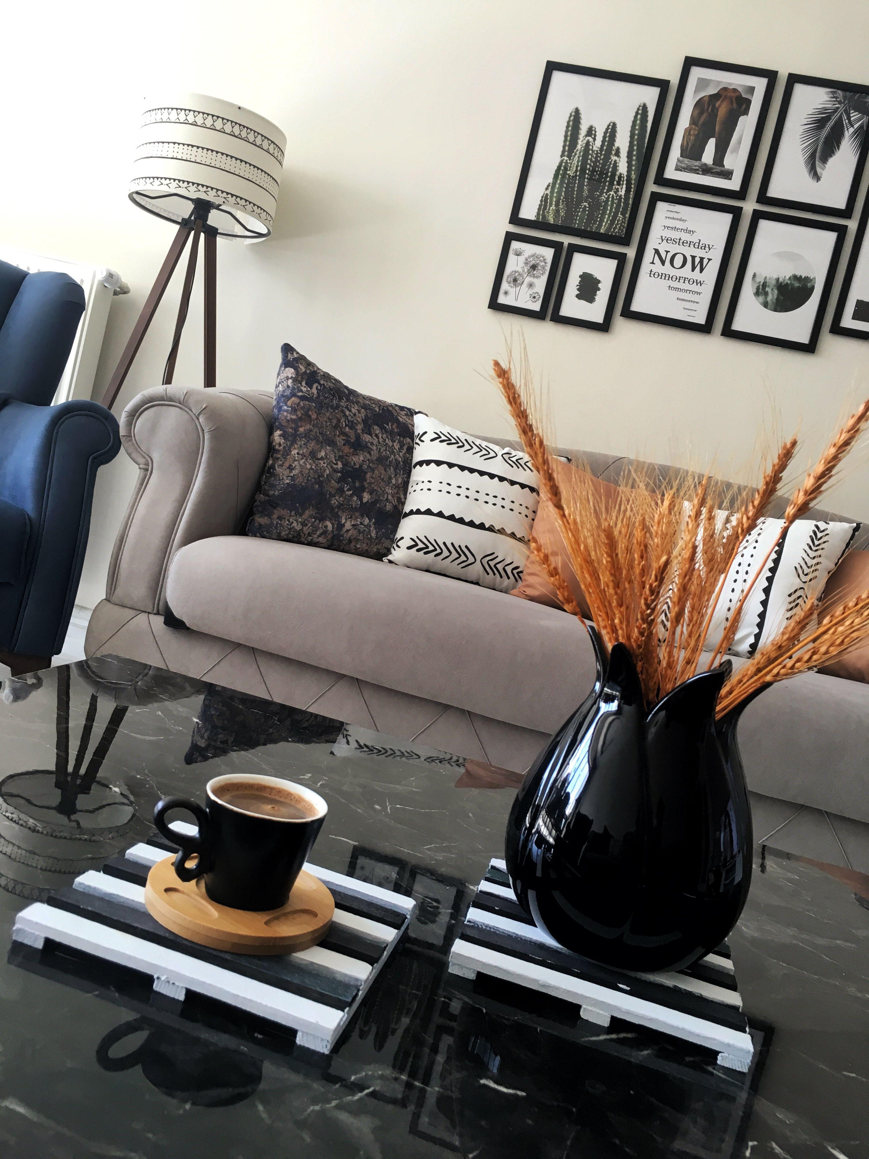 #design #düzen #oturmaodası #salon #siyahbeyaz #repost #dekarasyon #evdekoru #kahve