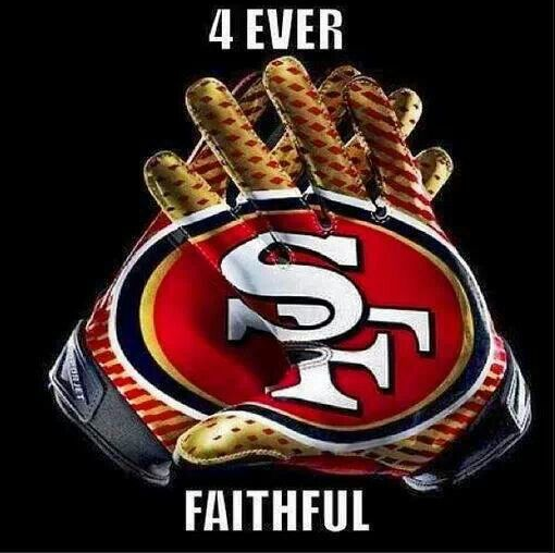 4 Ever Faithful Gloves San francisco 49ers, Nfl 49ers