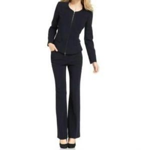 women's navy blue suit | ... about Anne Klein NEW Navy Blue ...