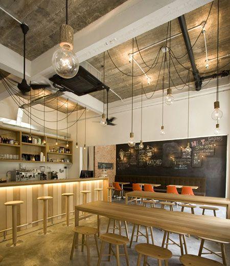 Hatched By Outofstock Diseno De Bar Restaurante Decoracion De Bares Interiores Cafeteria