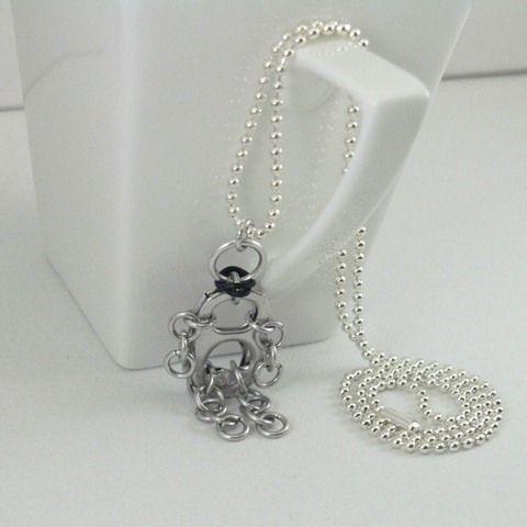 bracelet perles croix couleur bleue argent poupée reborn bijou