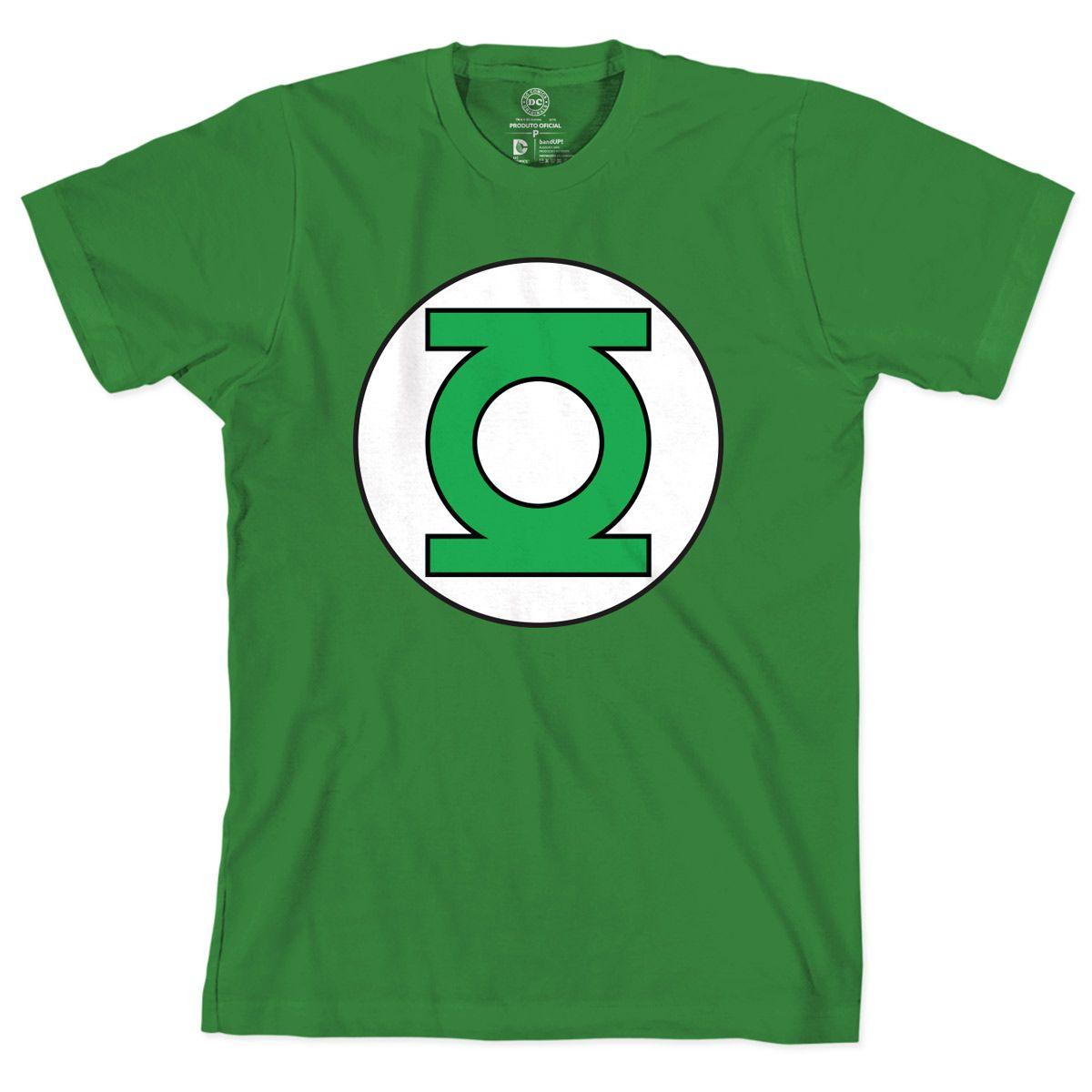 01dcaf720c Camiseta Lanterna Verde - Logo