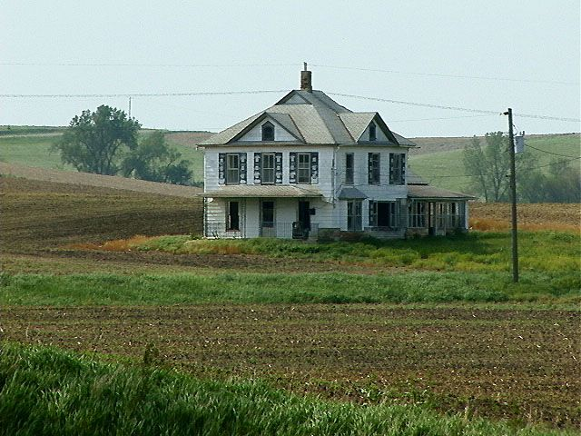 Abandoned Houses In North Dakota May 21 2005 South