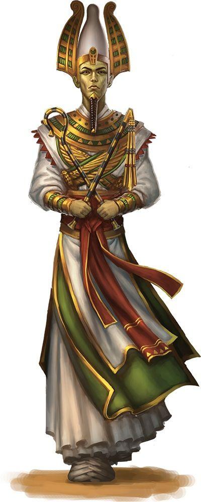 Osiris, is an Egyptian god, usually identified as the god ...