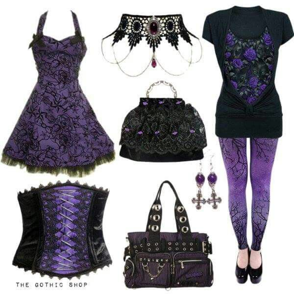 Love Purple - all items available at The Gothic Shop. https://www.the-gothic-shop.co.uk/advanced_search_result.php?keywords=purple