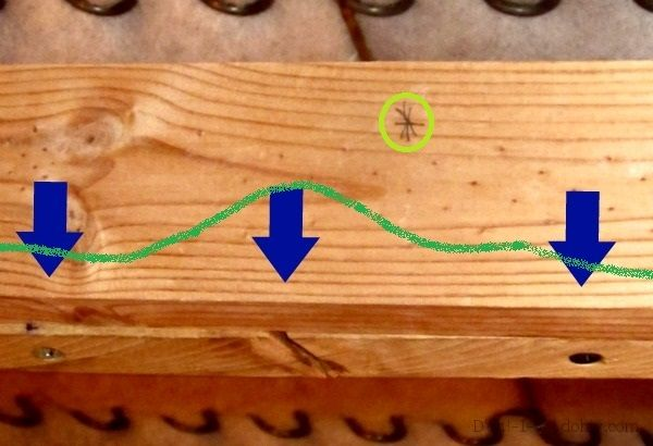 Sagging Sofa How To En Up And Repair The Frame Get More Years Out Of Your Investment