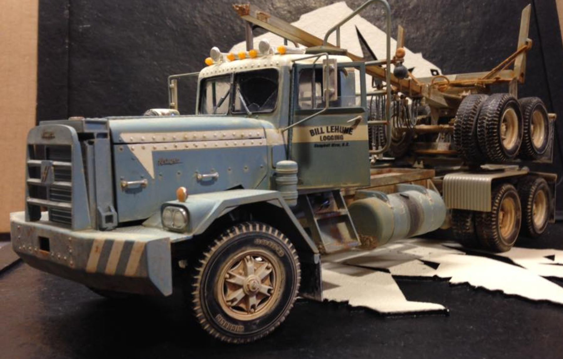 Pin by Tim on Model trucks | Model truck kits, Model cars
